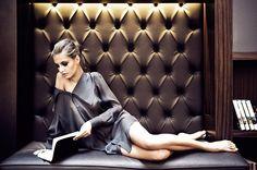 JESSICA CHOAY The Shirt . Photographer Vera Colombo . Model Iliana Chernakova . Location Hotel Milano Scala, Milan