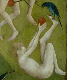 The garden of earthly delights (detail), Hieronymous Bosch
