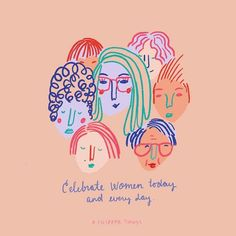 Shared by hey, lovely! Find images and videos about love, feminism and feminist on We Heart It - the app to get lost in what you love. Feminist Quotes, Feminist Art, Illustrations, Illustration Art, Women In History, Ladies Day, Women Empowerment, Girl Power, Equality