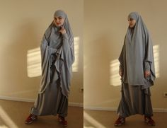 Franch khimar suit Muslim sport suit Harem by ScarfTurbanHijab Celebrity Fashion Outfits, Street Hijab Fashion, Women's Fashion, Celebrities Fashion, Modest Fashion, Celebrity Style, Fashion Trends, Hijab Wedding Dresses, Disney Wedding Dresses