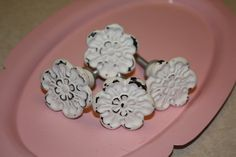 Metal Vintage Style Dresser Knobs / Drawer Pulls by 2CountryChics, $4.35