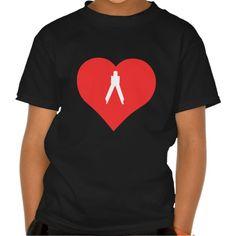 I Love Surveyors Cool Symbol Tee T Shirt, Hoodie Sweatshirt