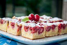 Prajitura (chec) simpla si delicioasa cu fructe de sezon | Simplu Feminin
