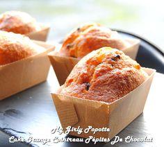 Cake oranges confites, p�pites de chocolat et cointreau