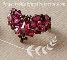 Florence Ring by Eri Attebery - join http://www.jewelrymakingprofessormembers.com/public/department14.cfm?affID=janecgy