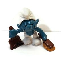 Smurf Vintage figure figurine U-pick Peyo Schleich Bully PVC many available Figurine Schleich, Scottish Bagpipes, Dustpans And Brushes, Smurfette, App, Smurfs, Ebay, Vintage, Street
