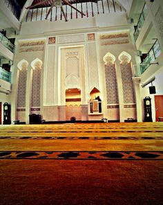 Beautiful Mosques, Architectural Presentation, Windows And Doors, Singapore, Cami, Islam, Architecture, Interior, House