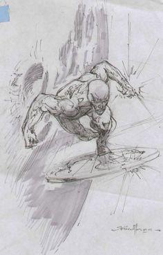 Marvel Drawings, Art Drawings, Comic Book Characters, Comic Books Art, Marvel Comics Art, Ms Marvel, Captain Marvel, Spiderman, Batman