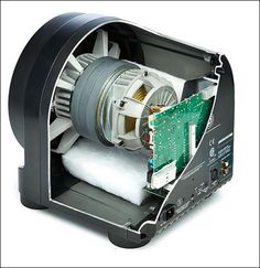 Seismic 110 Subwoofer Speaker - Inside View