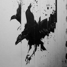 Image result for abstract ravens