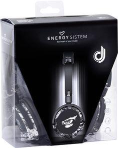 Auriculares Energy Sistem DJ400 Comic Art #friki #android #iphone #computer #gadget
