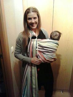 Pañuelo de porteo Babywearing, The Creation