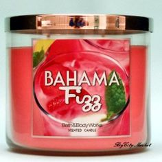 bath and body works ''Bahama fizz'' candle