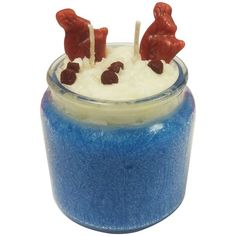 FREE RECIPE:  Reindeer Poo Candle from Natures garden.  Make your own candles. Save money on candle making supplies.