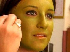 How to Apply Frankenstein makeup for Halloween « Halloween Ideas