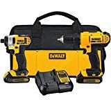 DEWALT DCK240C2 20v Lithium Drill Driver/Impact Combo Kit (1.3Ah) DEWALT DCK240C2 20v Lithium Drill Driver/Impact Combo Kit (1.3Ah) Product Description The DEWALT DCK240C2 20v Lithium Drill Driver/Impact Combo Kit (1.5Ah) is comprised of the DCF885 20V MAX Lithium-Ion 1/4-Inch Impact Driver which is compact (5.55″ front to back) and lightweight (2.8 lbs.), designed to fit …