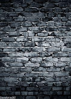 Отправить проката! 5' x7' кирпичный стены фон - черный старое кирпичи-кейс набивные ткани фотографии фоном w287