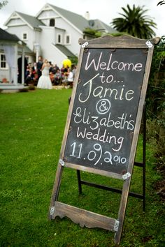 Blackboard use... great for a party