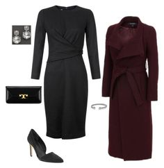 """""""OOTN 01.28.17"""" by elie2882 ❤ liked on Polyvore featuring Banana Republic, Tory Burch, Ippolita, Kenneth Cole, Hobbs and David Yurman"""