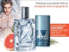 Fuse Eau de Toilette & Free Deoderant - Fuse - Men fragrances/ EDT -