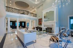 Contemporary Living Room - Found on Zillow Digs