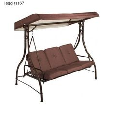 3 Person Patio Swing Bed Chair Hammock Outdoor Pool Patio Deck Porch Furniture