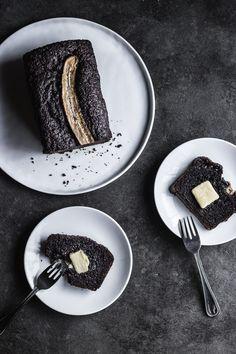 BLACK SESAME CHOCOLATE BANANA BREAD  fulfilled