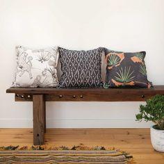 australian designed wallpaper and cushions