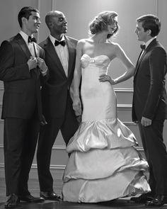 Wedding Dress with Crystal Bust