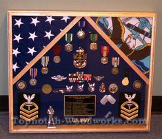 This 2 Flag Shadow Box is the perfect way to display 2 flags and all your military memorabilia. Military Retirement, Military Gifts, Retirement Gifts, Military Shadow Box, Navy Corpsman, Picture Banner, Military Memorabilia, Amazing Nature Photos, American Flag Wood
