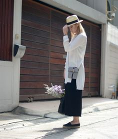 Panama Hat - Culottes - Linen Tunic - Espadrilles - What to Wear in Bangkok  A PIECE OF ELISE