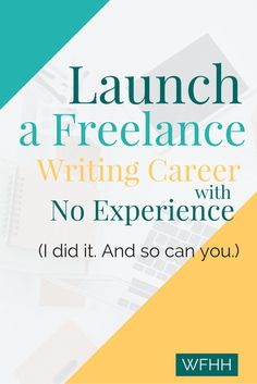 Start a lucrative freelance writing career. The best part? You don't need any…