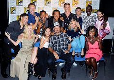 Jai Courtney Suicide Squad Cast San Diego Comic Con 2016