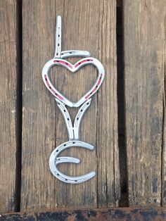 Horse shoe Love wall art. on Etsy, $25.00