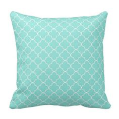 Aqua Quatrefoil Pattern Decorative Pillow you will get best price offer lowest prices or diccount couponeReview          Aqua Quatrefoil Pattern Decorative Pillow Online Secure Check out Quick and Easy...