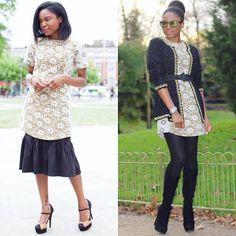 OUTFIT IDEAS   1 SHIFT DRESS, 2 WAYS: http://www.twynkleloves.com/2016/03/outfit-ideas-1-topshop-shift-dress-2-ways.html