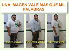Pérdida de peso, salud, bienestar.