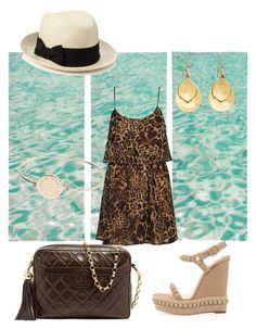Sea by giubagnols on Polyvore featuring polyvore, fashion, style, Boohoo, Christian Louboutin, Chanel, Brooks Brothers, Marc by Marc Jacobs, Accessorize and clothing