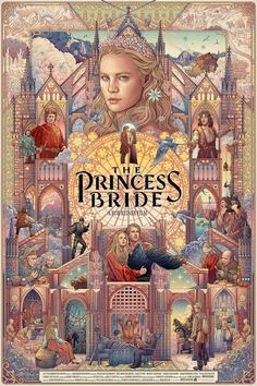 The Princess Bride (1987)  Alt Movie Poster by Ise Ananphada HD Wallpaper From Gallsource.com
