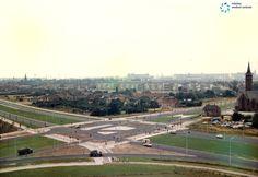 Uitzicht vanuit het Diaconessenhuis in oktober 1967 richting centrum en Kennedylaan #Eindhoven. #maximamedischCentrum #MMC