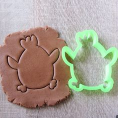 Chicken cookie cutter by LubimovaCookieCutter on Etsy, $6.00