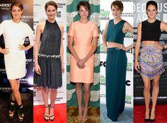 See Shailene Woodley's best red carpet looks!