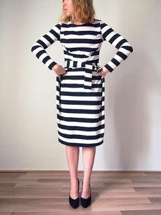 Kielo Wrap Dress with free Sleeve pattern! - Named Blog