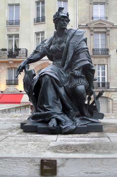 """""""L'Europe"""" de Alexandre Schoenewerck_Musée d'Orsay_Paris (France)_2014-05-08 © Hélène Ricaud-Droisy (HRD)"""