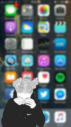 Funny Iphone Wallpaper, Phone Screen Wallpaper, Mood Wallpaper, Apple Wallpaper, Wallpaper Decor, Pastel Wallpaper, Computer Wallpaper, Galaxy Wallpaper, Cellphone Wallpaper