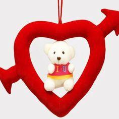 Teddy in Heart Ring