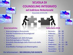 SCUOLA COUNSELING  GRUPPI  A.I.C.I Roma Counseling : SCUOLA di COUNSELING  CALENDARIO 2016 PROSSIMO I...