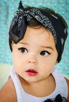 Vintage baby names for girls that are cool again #bandana
