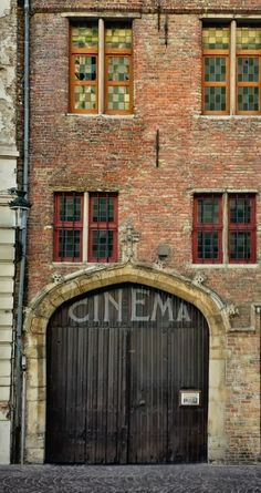 CINEMA LUMIERE • This charming old movie theater in Bruges - tucked away in a busy street that connects you to the central market place - offers you high quality movies for young and old.