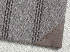 Merida Rug Leather Corner Finish